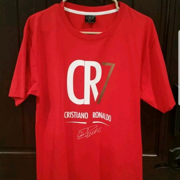 low priced 5445d 028b1 CR7 Museu Cristiano Ronaldo T-Shirt Size 2XL RED.